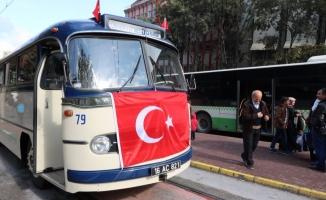 Bursa'da ulaşımda Cumhuriyet nostaljisi