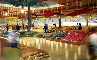 Bursa'nın o mahallesine modern pazar yeri