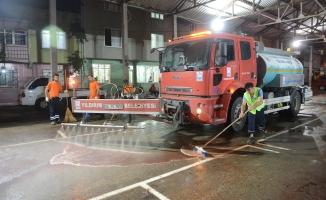 Bursa Yıldırım'da temizlik harekatı