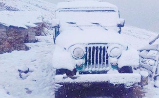Üç kente kar sürprizi!