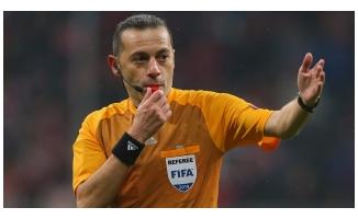 UEFA'dan Cüneyt Çakır'a sürpriz görev!