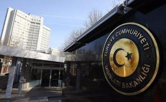 Dışişleri'nden AP'nin terör örgütleri yasağı ile ilgili açıklama