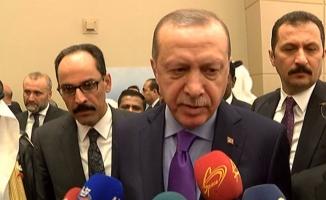 Erdoğan'dan Dağlık Karabağ açıklaması
