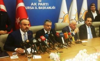 """İşte Alinur Aktaş'ın ilk sözleri: """"Bursa'nın her bir karışına..."""""""