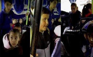 Polis tek tek saydı! 15 kişilik minibüsten 29 öğrenci çıktı
