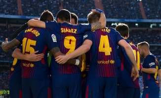 Barça Real'in fişini El Clasico'da çekti