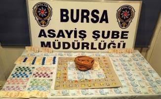 Bursa'da yılbaşı öncesi kumar operasyonu