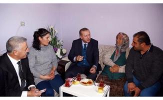 Cumhurbaşkanı Erdoğan 11 yıl sonra yine o evde