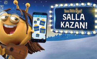 Turkcell'den müşterilerine yeni yıl hediyesi
