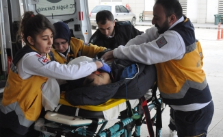 Bursa'da dengesini kaybeden işçinin korkunç sonu!