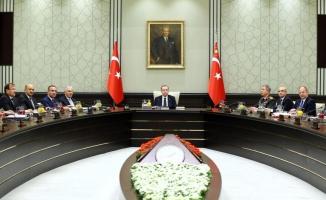 OHAL ve Afrin'in görüşüldüğü kritik MGK sona erdi!
