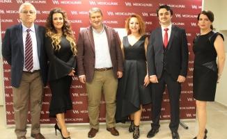 VM Medikal Park'ın yenilenen estetik merkezi hizmete açıldı