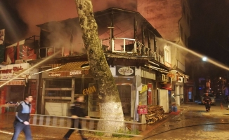 Bursa'da pide salonu küle döndü