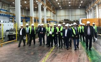 Kosova ticaret heyetinden Gökçelik'e ziyaret