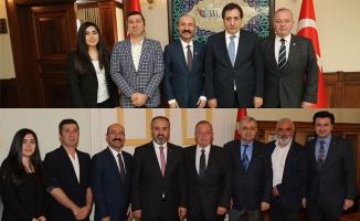 TSYD Bursa'dan iki ziyaret