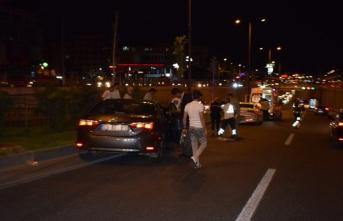 Bakanın konvoyunda kaza! 4 yaralı var...