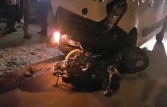 Bursa'da motosiklet kazası yapan sürücü hayatını kaybetti!