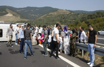Bursa'da korkunç kaza! Otobanda can pazarı...