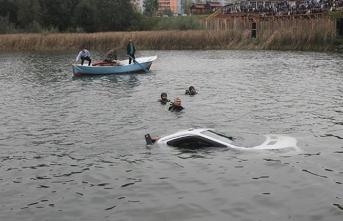 Baraj gölüne uçtu, dalgıçlar cansız bedenini çıkardı