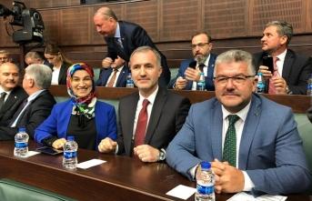 Bursa İnegöl heyeti Ankara'ya çıkarma yaptı