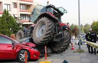 'Dur' ihtarına uymayıp ortalığı karıştıran traktörcü hakkında flaş gelişme!