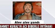 Ahmet Kural'ın acı biberle imtihanı