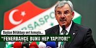 Başkan Bölükbaşı'ndan Serdar Aziz açıklaması!