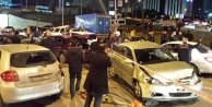 Başkent'te zincirleme trafik faciası!
