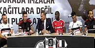 Beşiktaş'ta imza şov!