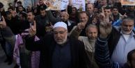BM'ye yardım protestosu
