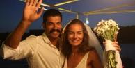 Burak ve Fahriye'den evlilik provası
