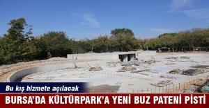 Bursa'da buz pateni heyecanı Kültürpark'ta yaşanacak