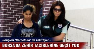 Bursa'da gençleri Barcelona ile zehirleyen uyuşturucu taciri yakalandı