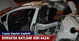 Bursa#039;da katliam gibi kaza: 4...