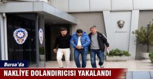 Bursa'da nakliye dolandırıcısı yakalandı