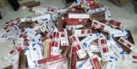 Bursa'da kaçak sigara operasyonu!