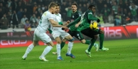 Bursaspor deplasman maçlarından 17 puan topladı
