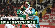 Bursaspor son dakikada kazandı!