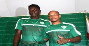 Bursaspor, Valle ve Sane ile sözleşme imzaladı