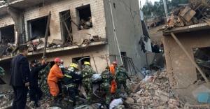 Çin'de patlama! 7 ölü 95 yaralı