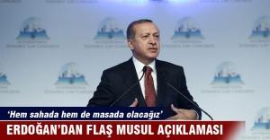Cumhurbaşkanı Erdoğan: 'Türkiye hem sahada hem de masada olacak'