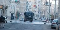 Diyarbakır'da olaylı yürüyüş! 3 yaralı