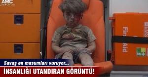Halepli çocuk insanlığı...