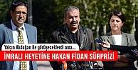 HDP heyetine Hakan Fidan sürprizi!