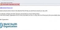 İnternetteki Ebola virüsüne dikkat!