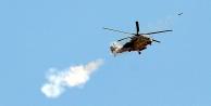 IŞİD savaş uçağı ve helikopter düşürdü