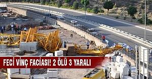 İzmir'de vinç faciası!