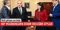 Kritik görüşme sonrası HDP'den açıklama