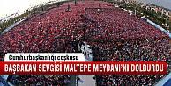 Maltepe'de Başbakan coşkusu