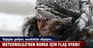 Meteoroloji#039;den Bursa için flaş...